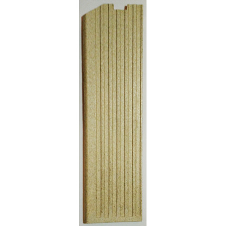 Plaque foyère gauche vermiculite Globo Lyra Odette Chrissie Jollymec