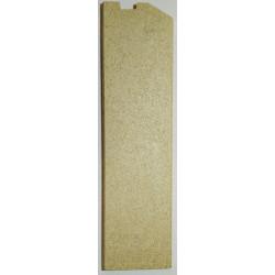 Plaque foyère gauche vermiculite Globo Lyra Odette Chrissie Jollymec vue arrière
