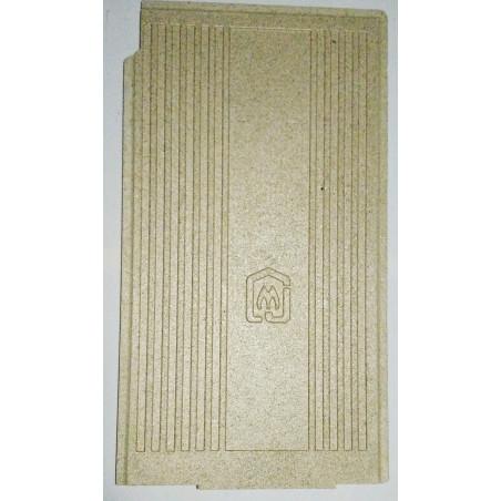 Plaque vermiculite fond de foyer Poêle Jollymec Angolo 2