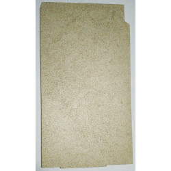 Plaque vermiculite fond de foyer Poêle Jollymec Angolo 2 vue arrière