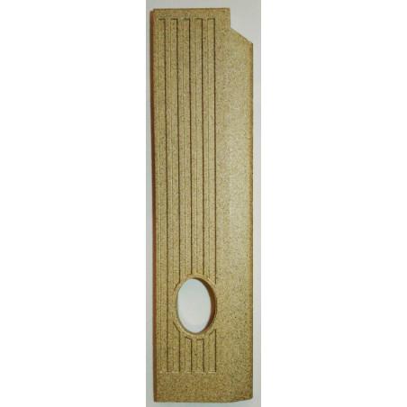 plaque vermiculite cote droit Jollymec Idea 2 frontal angolo