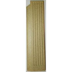 Plaque foyère vermiculite côté gauche Jollymec