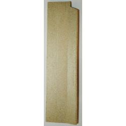 Plaque foyère vermiculite côté gauche Jollymec Vue arrière
