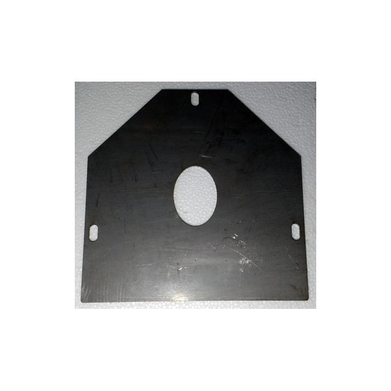 Déflecteur plaque de fond de foyer sicalor