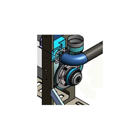 Extracteur des fumées pour poêle JOLLY MEC IDEA