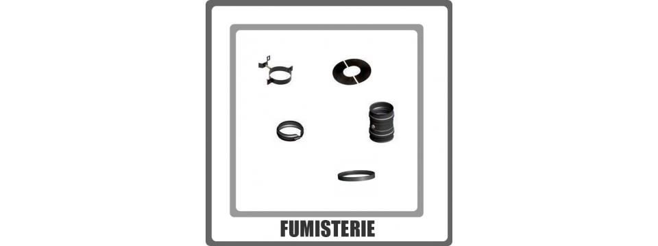 Elements de fumisterie pour poêle à granulés